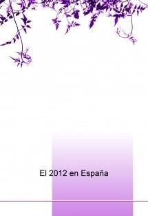 El 2012 en España
