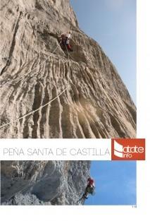 Guia de escalada Peña Santa de Castilla