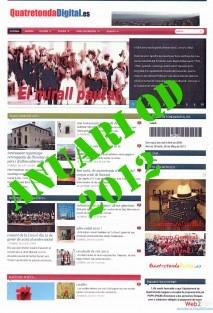 ANUARI 2012 QuatretondaDigital.es