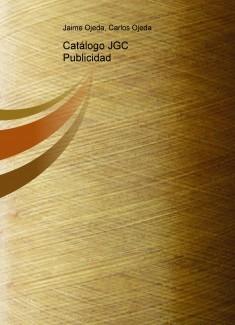 Catálogo JGC Publicidad
