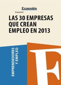 30 empresas que crearán empleo en 2013