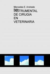 INSTRUMENTAL DE CIRUGIA EN VETERINARIA