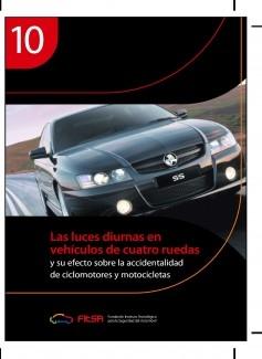 Las luces diurnas en vehículos de cuatro ruedas. Resumen 10ª Evidencia científica