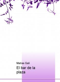 El bar de la plaza