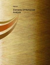 Elements Of Numerical Analysis