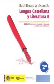 Lengua castellana y literatura II, 2º Bachillerato