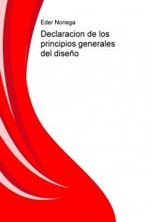 Declaracion de los principios generales del diseño