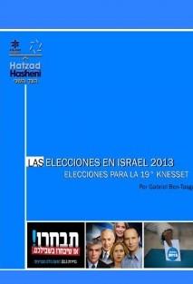 Las elecciones en Israel 2013 – Las elecciones para la 19° Knesset