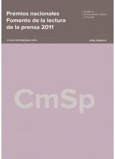 Premios Nacionales : Fomento de la Lectura de la Prensa 2011