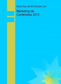Marketing de Contenidos 2013