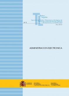 """TEXTO LEGAL Nº 5/2013 """"ADMINISTRACIÓN ELECTRÓNICA"""""""