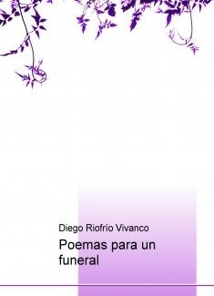 Poemas para un funeral