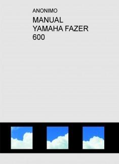 MANUAL YAMAHA FAZER 600