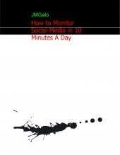 Libro How to Monitor Social Media in 10 Minutes A Day, autor YoureBook Store