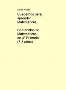 Contenidos de Matemáticas de 3º Primaria (7-8 años)