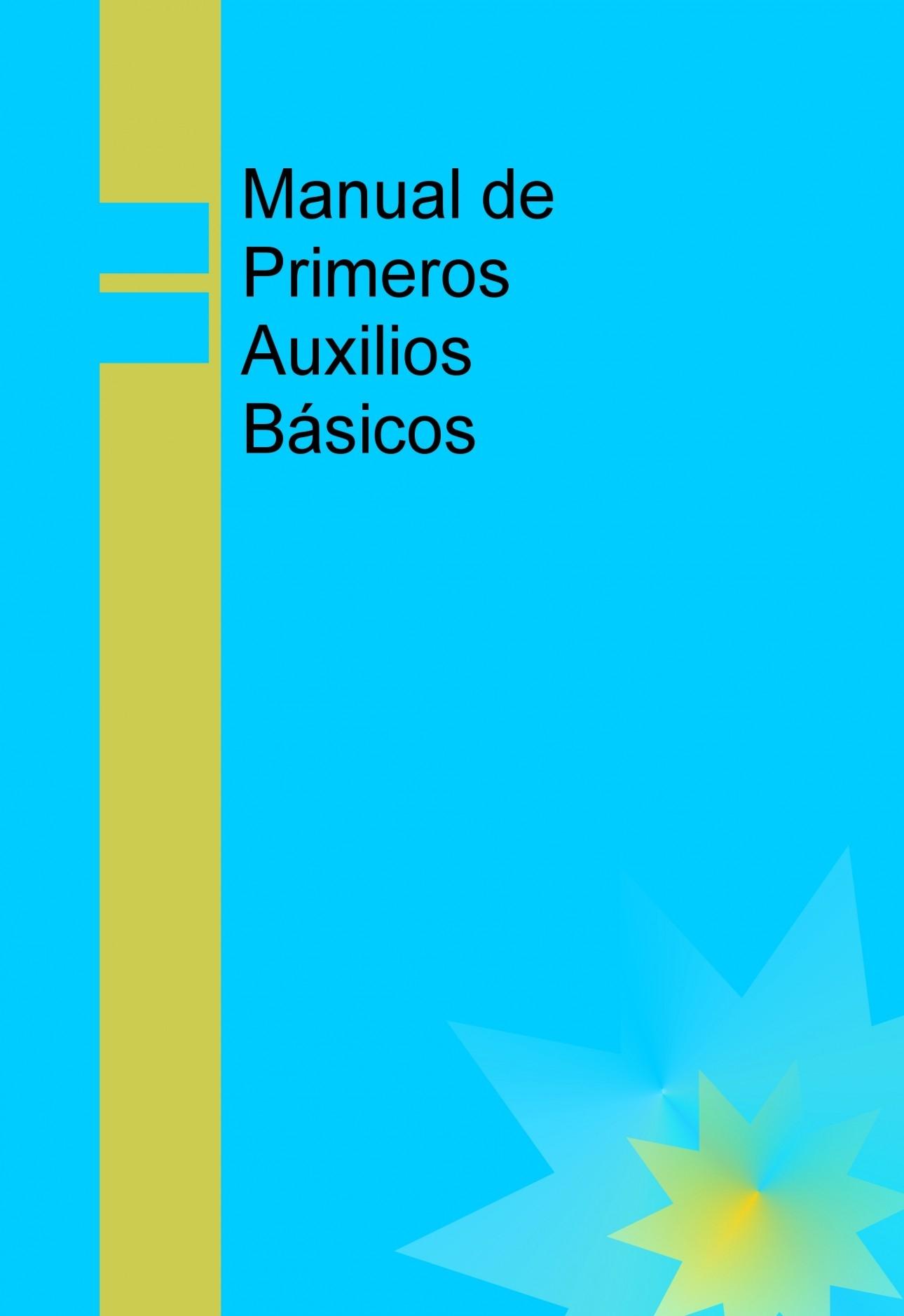 39715abd299 Manual de Primeros Auxilios Básicos