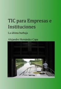 TIC para Empresas e Instituciones. La última burbuja.