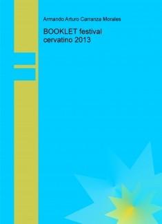 BOOKLET festival cervatino 2013