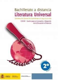 Literatura universal. 2º bachillerato. Bachillerato a distancia