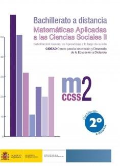 Matemáticas aplicadas a las ciencias sociales II. 2º bachillerato. Bachillerato a distancia