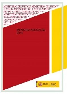 MEMORIA ABOGACÍA 2012