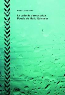 La Callecita Desconocida Poesía De Mario Quintana