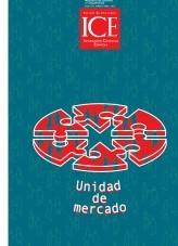 Libro Revista de Economía. Información Comercial Española (ICE). Núm 871. Unidad de mercado, autor Ministerio de Economía y Empresa