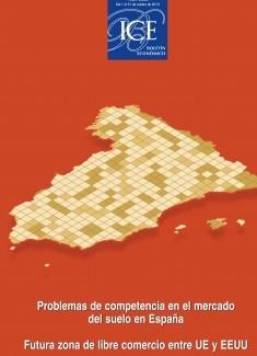 Boletín Económico. Información Comercial Española (ICE). Núm. 3044. Problemas de competencia en el mercado del suelo en España