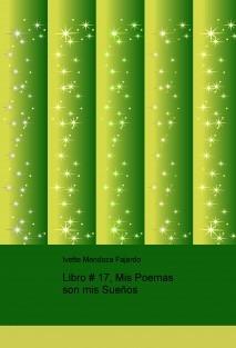 Libro # 17, Mis Poemas son mis Sueños