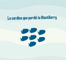 La sardina que perdió la Blackberry