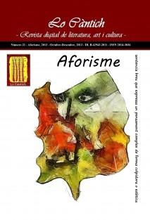 Lo Càntich - Número 21 - Aforisme, 2013