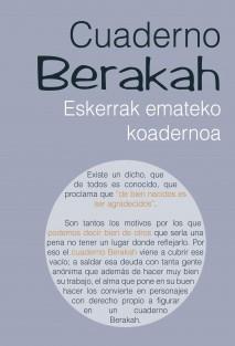Cuaderno Berakah edición Euskadi