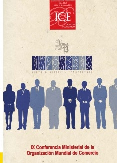 Boletín Económico. Información Comercial Española (ICE). Núm. 3047           IX Conferencia Ministerial de la Organización Mundial de Comercio