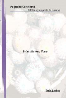 Concierto para Xilófono y Orquesta de cuerdas (Reducción para piano)