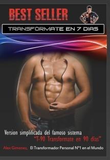 "Best Seller ""TRANSFORMATE EN 7 DÍAS"""