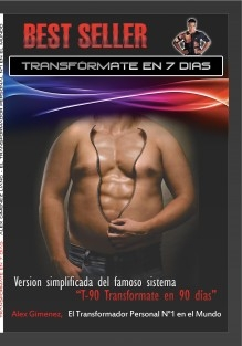 "Best Seller ""TRANSFORMATE EN 7 DÍAS"""