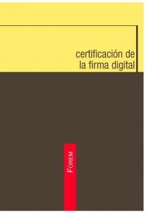 Certificación de la firma digital