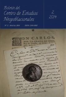 Boletín del CEN nº 2 (abril de 2014)