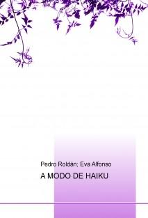 A MODO DE HAIKU