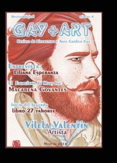 Gay+Art nº8 (revista de literatura y arte grafico gay)