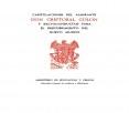 Capitulaciones del almirante Don Cristóbal Colón y salvoconductos para el descubrimiento del nuevo mundo