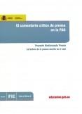 El comentario crítico de prensa en la PAU. Proyecto Mediascopio Prensa. La lectura de la prensa escrita en el aula