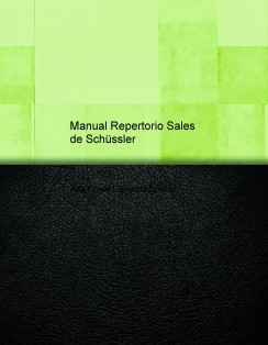 Manual Repertorio Sales de Schüssler