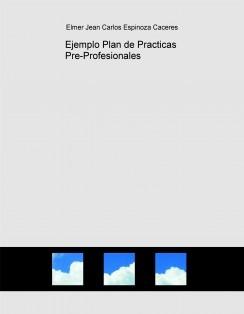 Ejemplo Plan de Practicas Pre-Profesionales