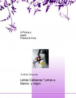 """Letras Callejeras """"Letras a blanco y negro"""