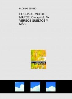 EL CUADERNO DE MARCELO -capitulo V- VERSOS SUELTOS Y MÁS