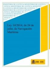 LEY 14/2014, DE 24 DE JULIO, DE NAVEGACIÓN MARÍTIMA