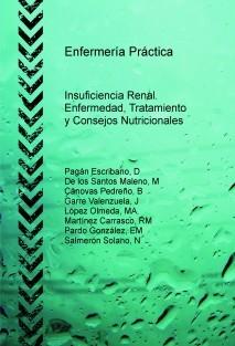 Enfermería Práctica: Insuficiencia Renal. Enfermedad, Tratamiento y Consejos Nutricionales