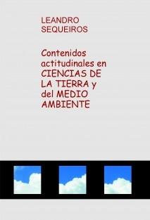 Contenidos actitudinales en CIENCIAS DE LA T y del MA.