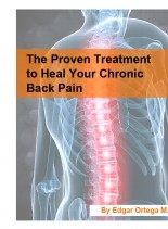 Libro The Proven Treatment to Heal Your Chronic Back Pain, autor Edgar Ortega M.